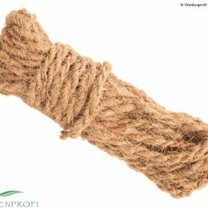 Kokosstrick 15 m zur Befestigung von Zäunen an Pfosten