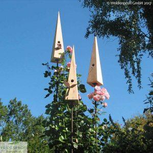 Nistkasten Vogeldorn aus Lärche, verschiedene Modelle