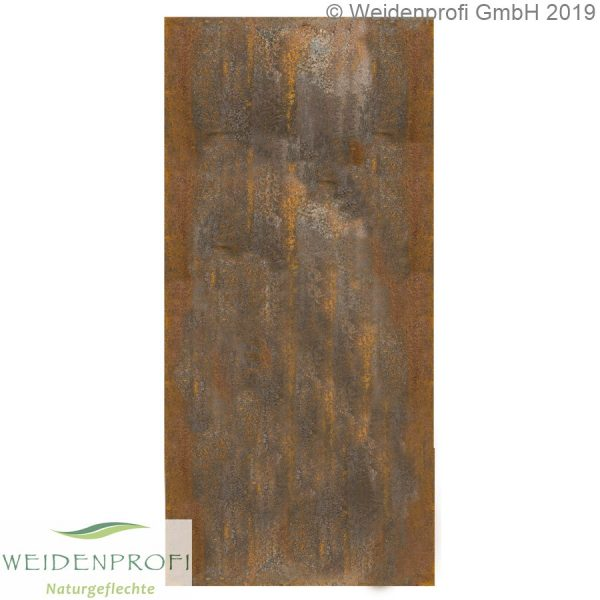 Zaun-Modul Corten-Stahl